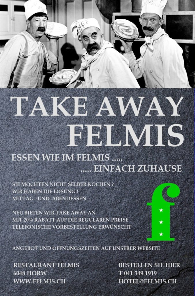 Flyer Felmis Take Away