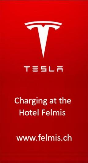 Tesla carga Destino