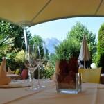 terraza 2  Hotel Felmis Horw cerca de Lucerna